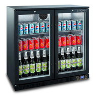 Bromic - BB0200GD-NR - Back Bar Display Chiller 190L (Hinged Door). Weekly Rental $11 Sliding Door. Weekly Rental $13.00