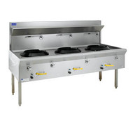 LUUS - WF-3C - TRADITIONAL GAS WOK - Weekly Rental $71.00