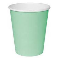 Disposable Aqua Hot Cups 8oz x 50
