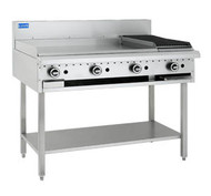 LUUS - BCH-9P3C - GAS GRIDDLE AND 300 CHAR GRILL. Weekly Rental $56.00