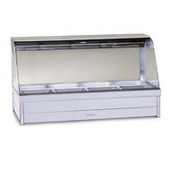 ROBAND - C24RD - HOT FOOD DISPLAY - CURVED GLASS. Weekly Rental $34.00
