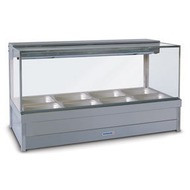 ROBAND - S24RD - SQUARE GLASS HOT FOOD DISPLAY. Weekly Rental $33.00