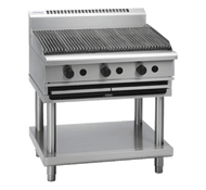 Waldorf 800 Series CH8900G-LS - 900mm Gas Chargrill Leg Stand. Weekly Rental $58.00