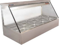 Woodson - W.HFS24 - Straight Glass Hot Food Display. Weekly Rental $22.00
