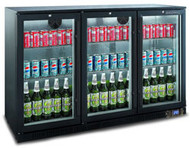 Bromic - BB0330GD-NR Back Bar Display Chiller 307L (Hinged Door). Weekly Rental $15.00