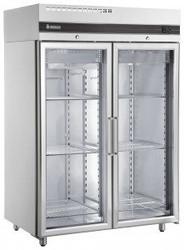 Inomak - UFI1140G - Double Glass Door Fridge. Weekly Rental $58.00