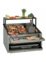 Magikitch'n - CM-660-SMB - 600 Series Gas Coal Char Grill. Weekly Rental $133.00