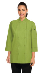 Lime 3/4 Chef Jacket