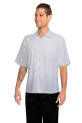 Mens White Cool Vent Shirt
