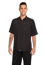 Mens Black Cool Vent Shirt