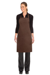 Bib Apron - Chocolate
