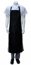 PVC Long Apron - Black