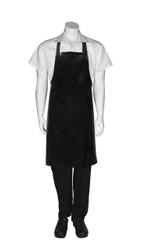 PVC Short Apron - Black
