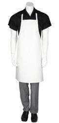 PVC Short Apron- White