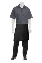 Half Apron with NMo POckets - Black