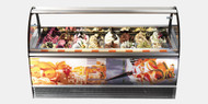 ISA - Millennium LX  RV 12 -  Gelato Ice Cream showcase Cabinet. Weekly Rental $220.00