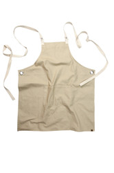 Byron Canvas Crossback Apron - Natural