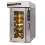 MORETTI FORNI SERIE R  R14G - Gas Powered Rotary Bakery Oven (Cooked With Steam). Weekly Rental $382.00