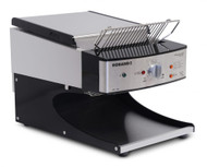 ROBAND - ST500AB - SYCLOID FRONT LOAD, FRONT RETURN BUFFET TOASTER BLACK. Weekly Rental $22.00