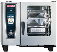 RATIONAL - SCC5S61 - 6 Tray Electric Combi Oven . Weekly Rental $188.00