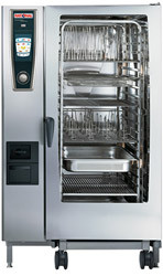 RATIONAL SCC5S202G 40 Tray Gas Combi Oven . Weekly Rental $658.00