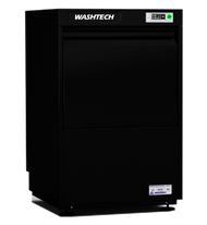 Washtech GL-B - Fully Insulated Premium Black Undercounter Glasswasher / Dishwasher - 450mm Rack. Weekly Rental $86.00