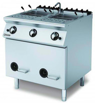 MARENO ANPC78G Gas Twin 28 Ltr Pasta Cooker . Weekly Rental $90.00