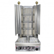KMB4E Semi-automatic Kebab Machine Natural Gas 4 Burner. Weekly Rental $28.00