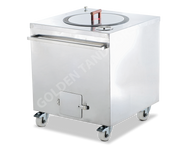Golden - GT-925 Charcoal Tandoor Oven Square. Weekly Rental $58.00