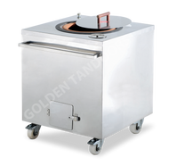 Golden - GT-810 Charcoal Tandoor Oven Square. Weekly Rental $44.00