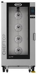 Unox XEVL-2011-GPRS ChefTop Mind Maps PLUS Series 20 Tray Gas Combi Oven