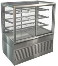 Cossiga - BTGRF6 -  Tower Self Serve 600mm Refrigerated Square Display. Weekly Rental $73.00