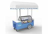 Gelato Showcase - IC CART 12 V. Weekly Rental $149.00