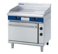 Blue Seal Evolution Series EP506 - 900mm Electric Griddle Static Oven Range. Weekly Rental $93.00