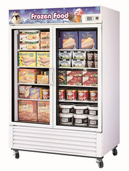 Austune FRS - 1250F -  Double Glass Door Upright Freezer . Weekly Rental $62.00