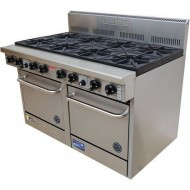 Goldstein PF12G8228 - Gas 8 Burner With Double Oven With Flame Failure. Weekly Rental $176.00