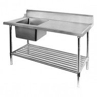 Dishwasher Inlet Bench - SSBD7-1200L/A - Left Side. Weekly Rental $8.00