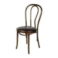 ZS-W04DB Dark Brown Thonet NO18 wooden dining chair
