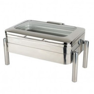 KGJ404 Oblong Chafing Dish with Glass Lid. Weekly Rental $11.00