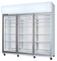 SKOPE SKT1500 A - ACTIVE CORE - 3 Door White Display Fridge. Weekly Rental $65.00