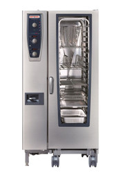RATIONAL CMP201G Model 201 Gas NG or LP Combi Oven 20 x 1/1 GN. Weekly Rental $420.00