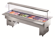 Tecfrigo Isola 6M VT- Mobile Salad Bar. Weekly Rental $79.00