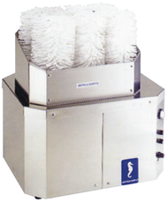 Sammic GP 8 Glass Polisher - 8 Brushes. Weekly Rental $54.00