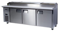 SKOPE CENTAUR BC240-P-3RRRS-E - 3 Door Pizza Prep Fridge. Weekly Rental $65.00