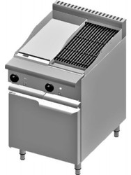 B & S - VBT-GRP3-CBR3 - 300 MM GRIDDLE + 300 MM CHAR BROILER ON CABINET. Weekly Rental $40.00