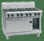 Waldorf 800 Series RN8810G - 1200mm Gas Range Static Oven. Weekly Rental $107.00