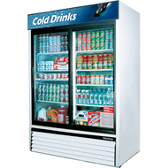 Skipio - SGM-49S - Two Glass Sliding Doors Upright Chiller. Weekly Rental $40.00