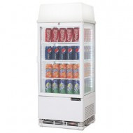 Bromic CT0080G4LW Countertop Beverage Chiller  Flat Glass - 78 Litre. Weekly Rental $9.00