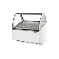 Skipio - SGC-1200F ( White ) Gelato Display Cabinet. Weekly Rental $110.00