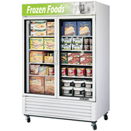 Skipio - SGF-49 - Two Glass Door Freezer. Weekly Rental $93.00